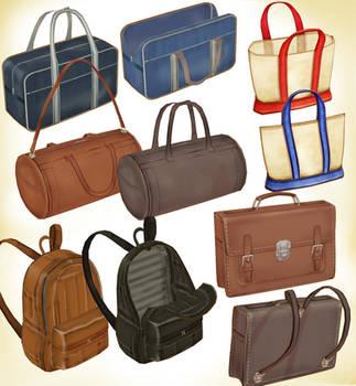Various bag set ver1.0 by PMDMaster