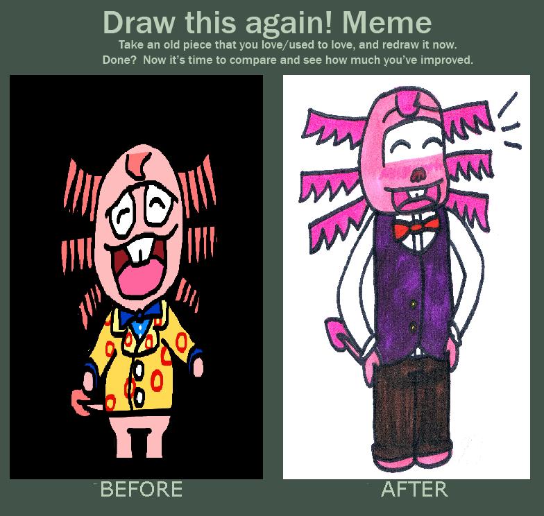 draw this again meme template - draw this again meme by elliemcdoodler on deviantart
