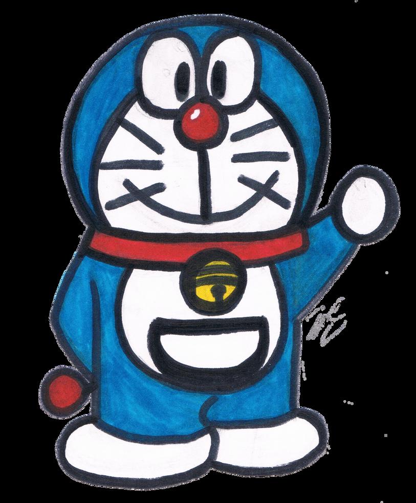 Doraemon! by EllieMcDoodler