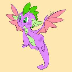 Spike Earns His Wings [Old]