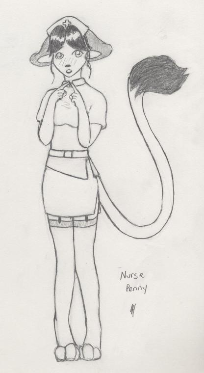 Nurse Penny by Akutenshi7