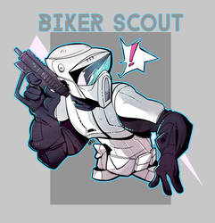 Biker Scout by royalshark