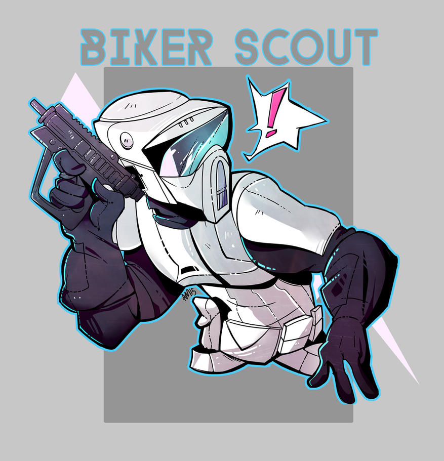Biker Scout by royalshark