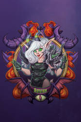 Arwan - Blizzcon Badge-