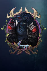 Dooku - BlizzCon Badge - by royalshark