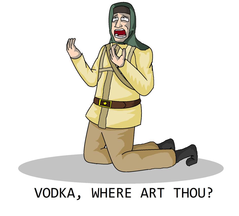 VODKA, WHERE ART THOU? by Ask-Nikolai-Belinski