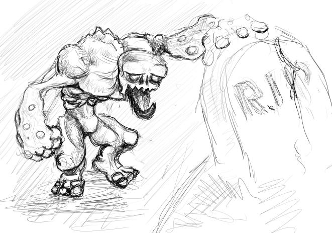 fc zombie by Grafyth