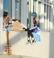 Terra and Aqua: One Last Afternoon by leppa-berry