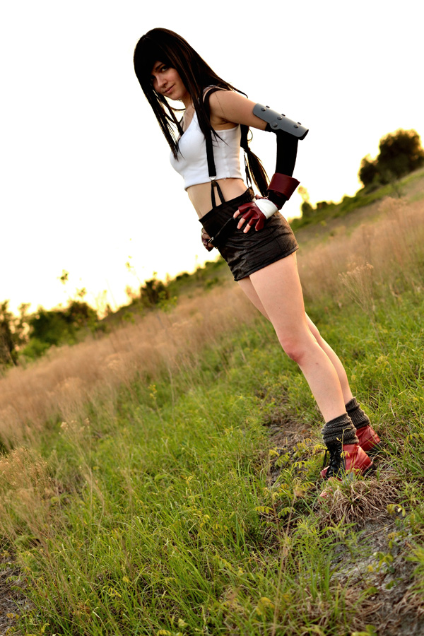 Tifa Lockhart: Battleground by leppa-berry