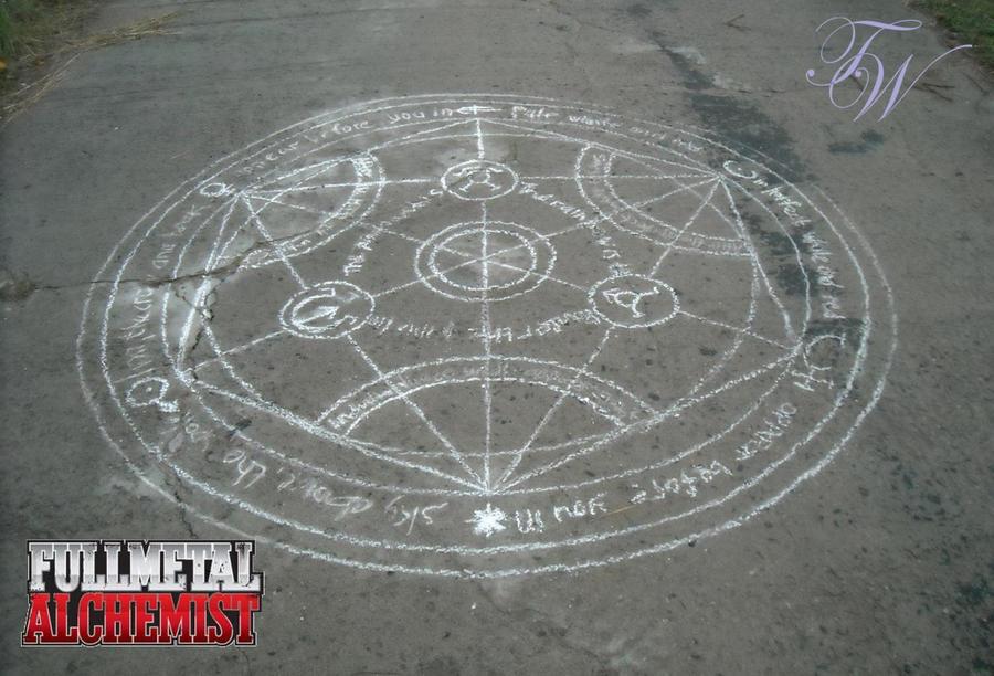 ::FMA:: Transmutation Circle by Beresclet