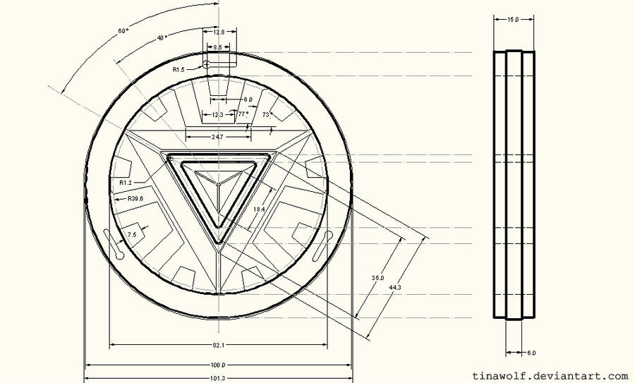 MARVEL:: Stark's Arc Reactor by Beresclet on DeviantArt