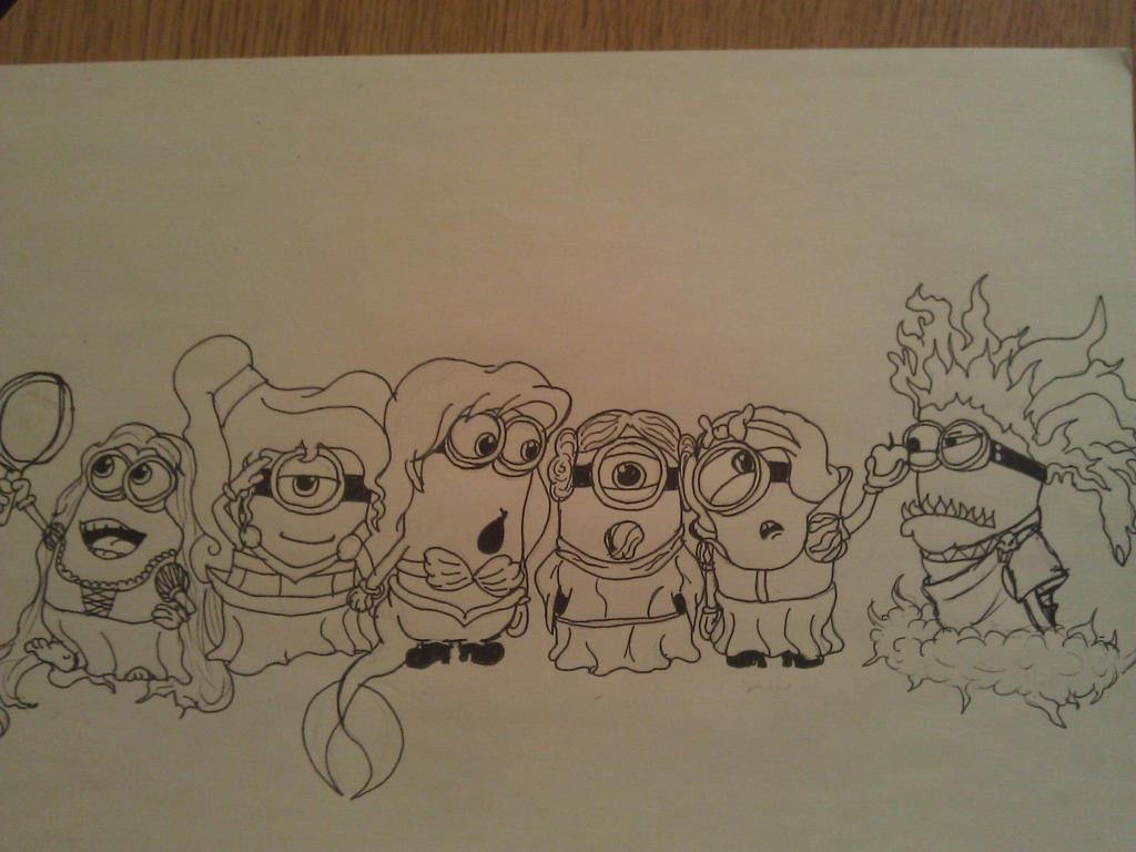 Disney Minions Disney Minion Princesses by