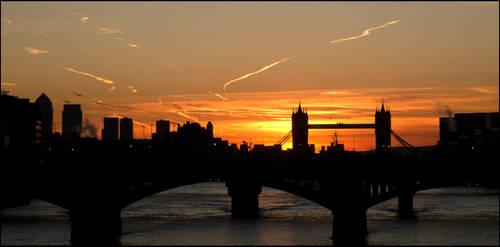 London on fire by LordLJCornellPhotos