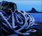 coiled for the night, the serpent ropes by LordLJCornellPhotos
