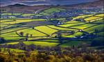 Patchwork fields by LawrenceCornellPhoto