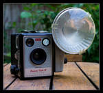 Kodak Brownie Flash III by LawrenceCornellPhoto
