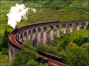 A train journey is another world