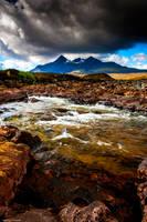 The glistening stones of Skye by LawrenceCornellPhoto