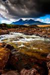 The glistening stones of Skye