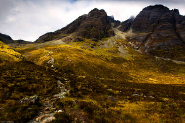 The challenge of Blaven by LawrenceCornellPhoto