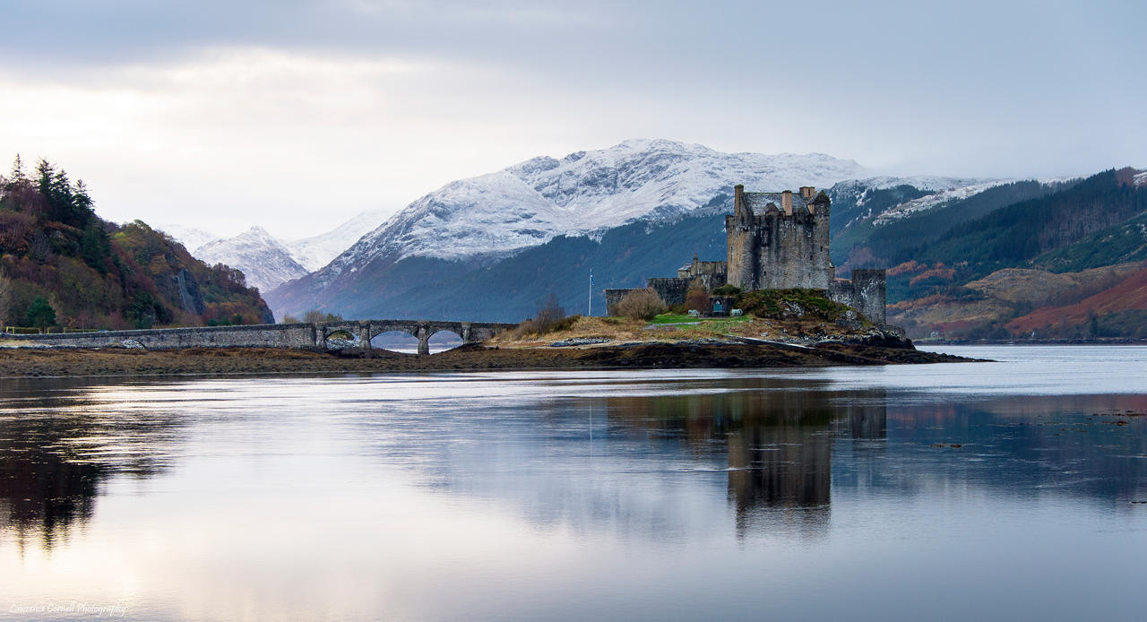 The winter castle by LordLJCornellPhotos