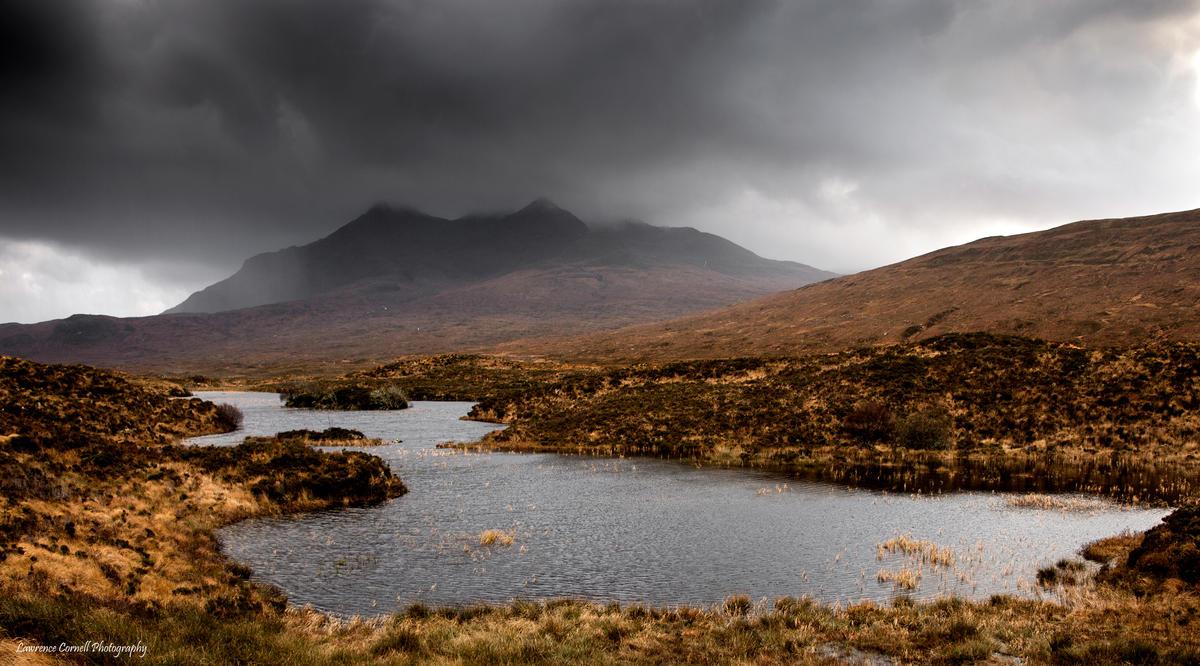 Under a wet shroud by LordLJCornellPhotos