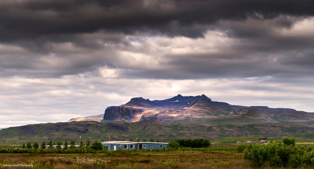 The blue house by LordLJCornellPhotos