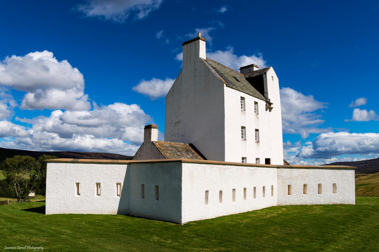 The whitewashed castle by LordLJCornellPhotos
