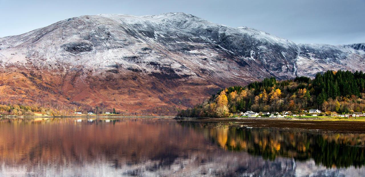 When Autumn meets Winter by LordLJCornellPhotos