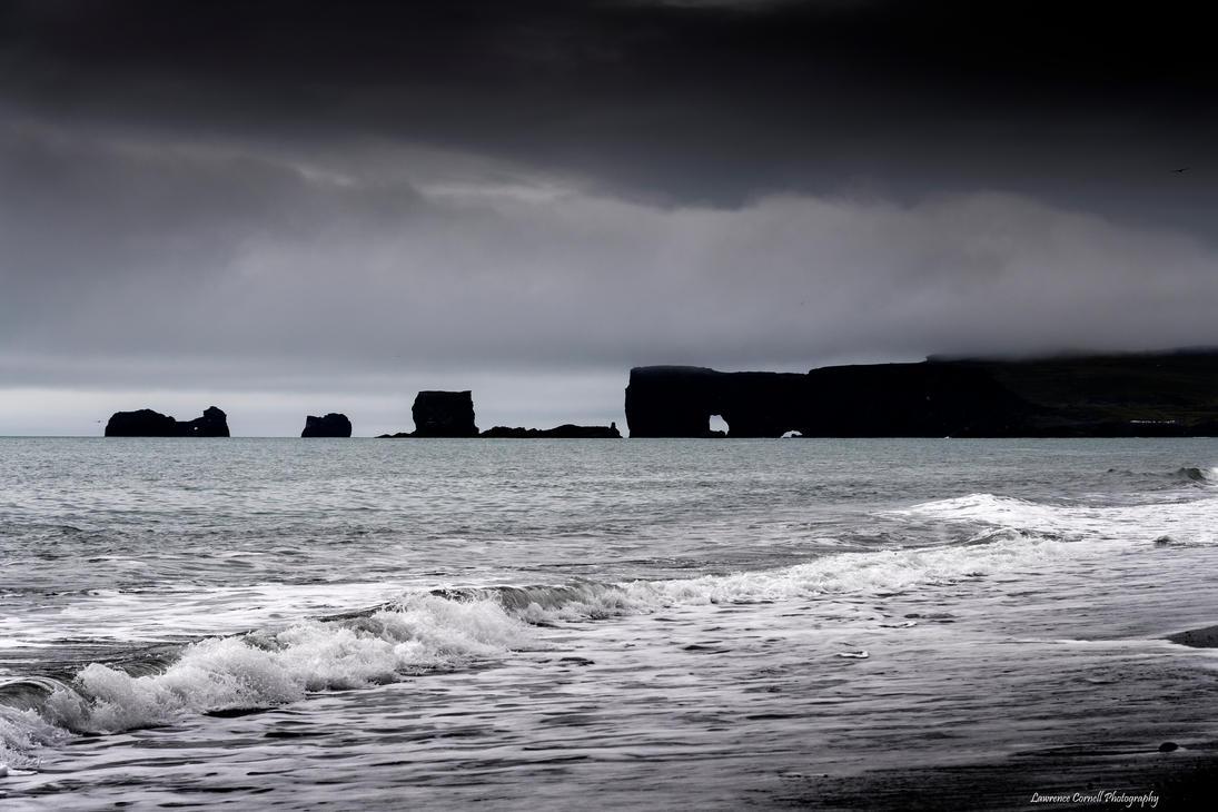Darkness on the coast by LordLJCornellPhotos