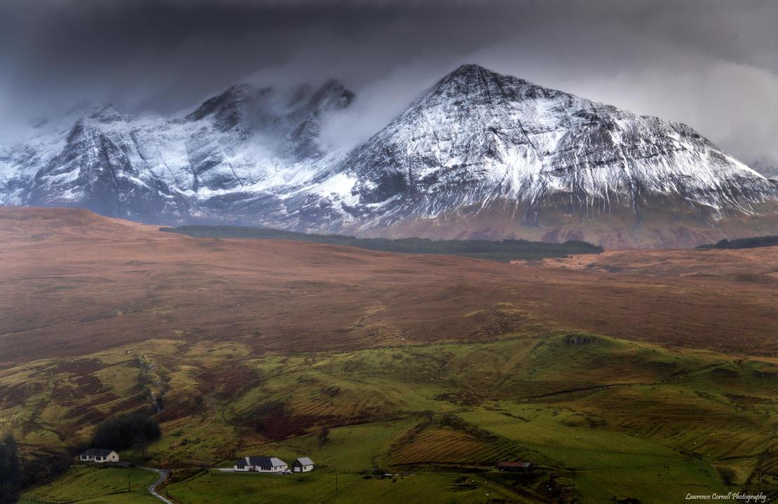 A snowy backdrop by LordLJCornellPhotos