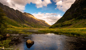 The loch with two names by LawrenceCornellPhoto