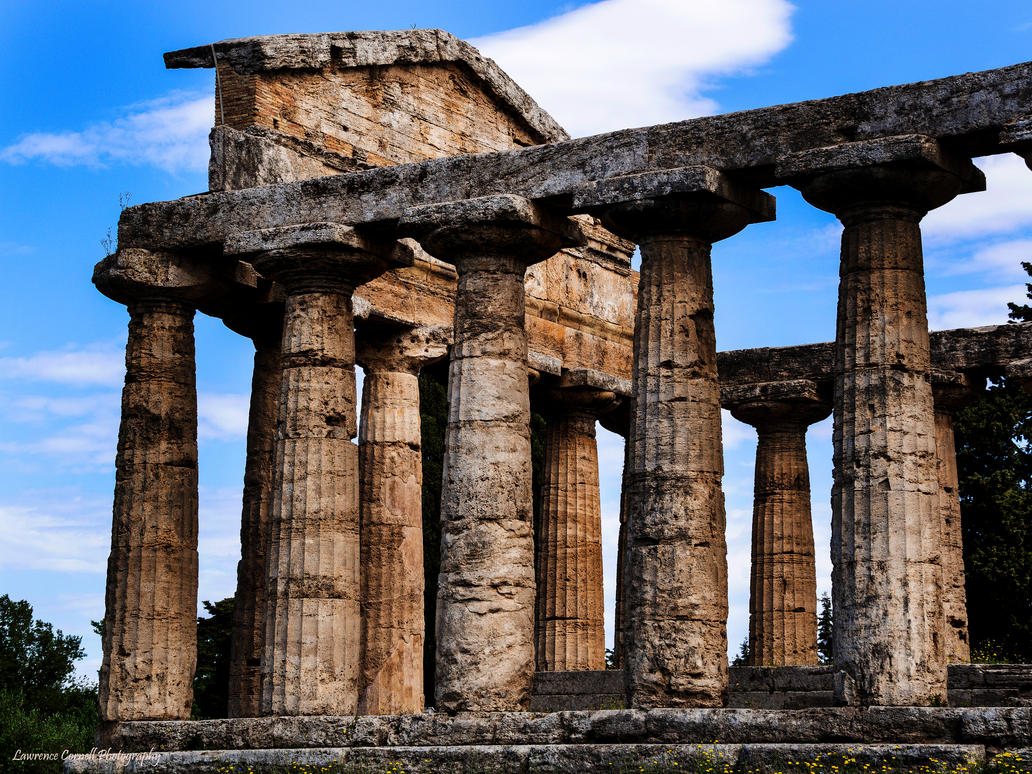 The Temple Of Athena by LordLJCornellPhotos