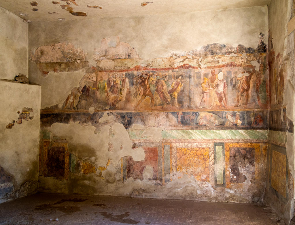 Amazing frescos by LordLJCornellPhotos