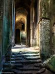 An underground cathedral.