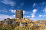 Smailholm Tower by LawrenceCornellPhoto