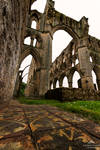 The tiles of Rievaulx Abbey.