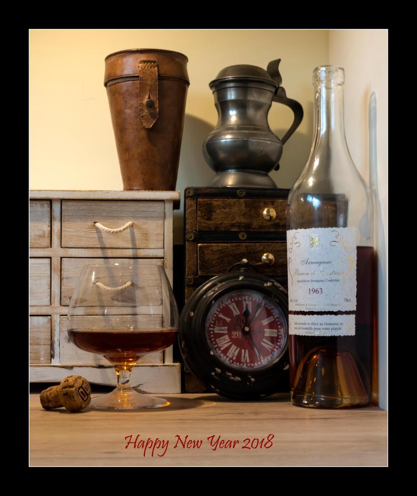 Happy New Year 2018 by LordLJCornellPhotos