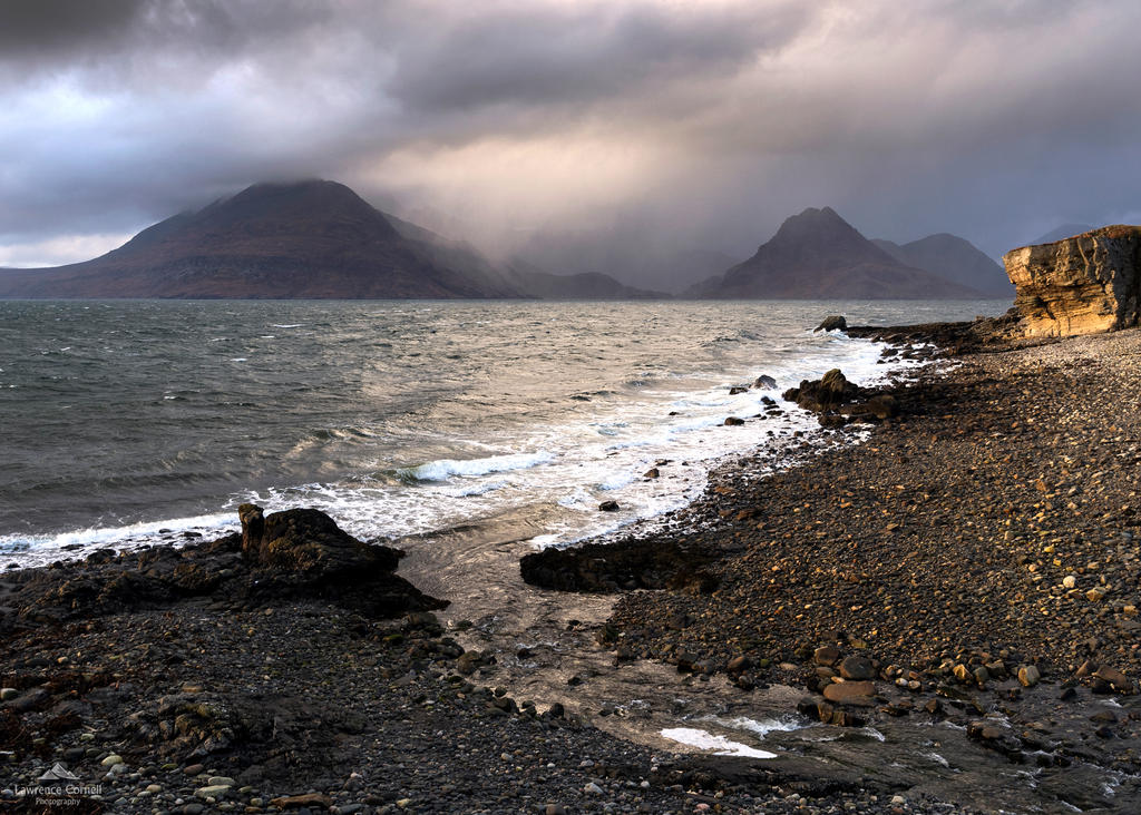 Never a bad time at Elgol by LawrenceCornellPhoto