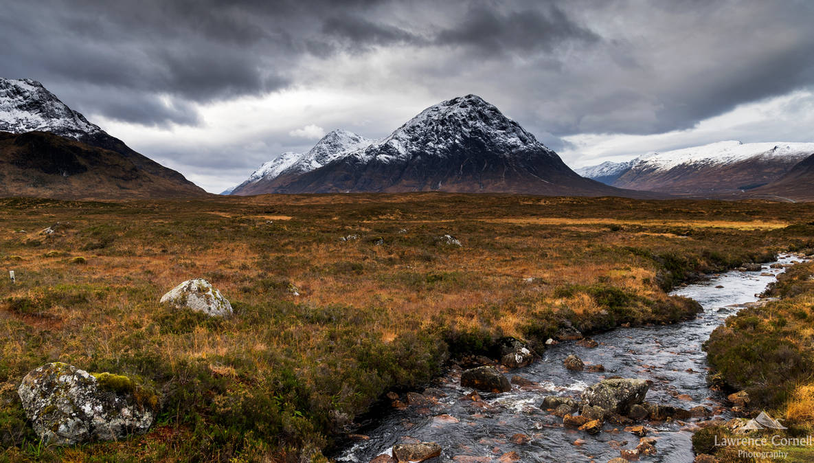 The big herdsman of Etive by LawrenceCornellPhoto