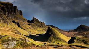 An ancient landscape.