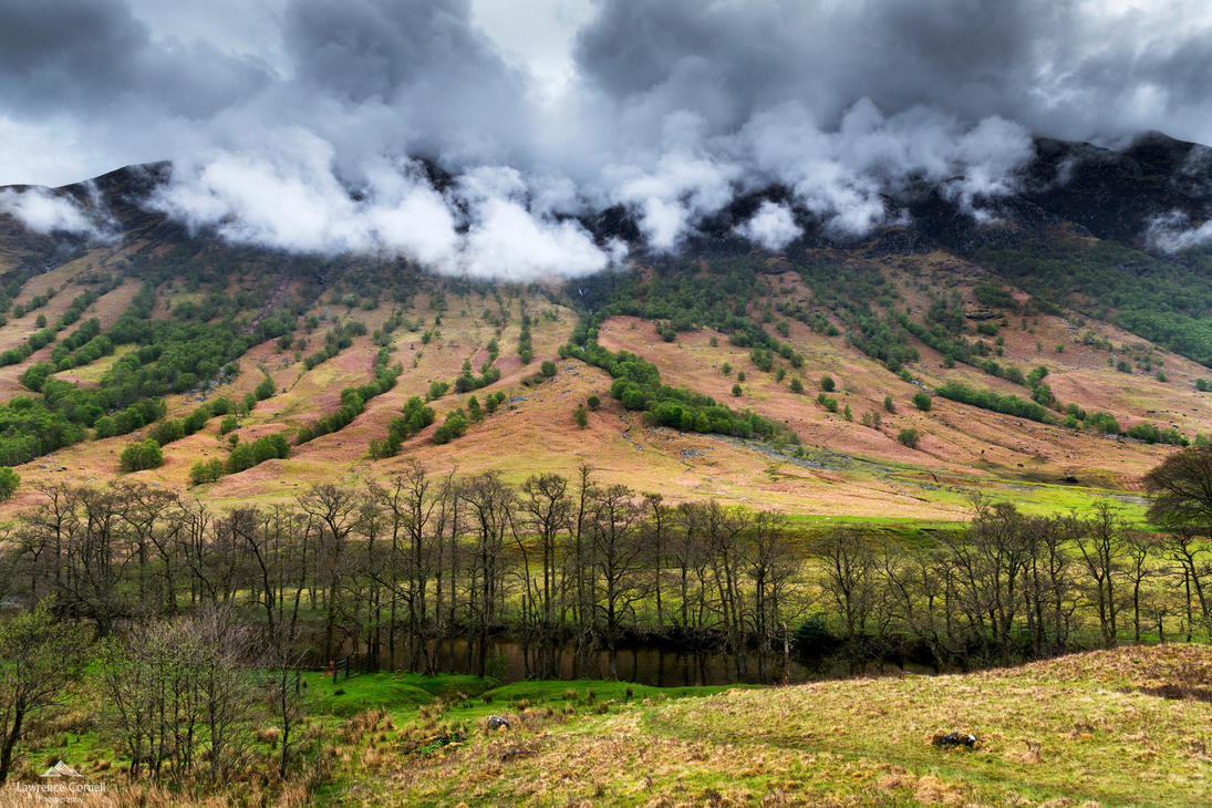Clouds spilling over. by LordLJCornellPhotos