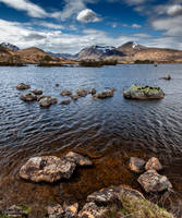 Loch on the rocks by LawrenceCornellPhoto