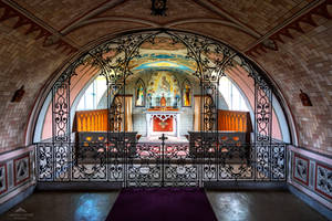 The Italian Chapel interior by LawrenceCornellPhoto