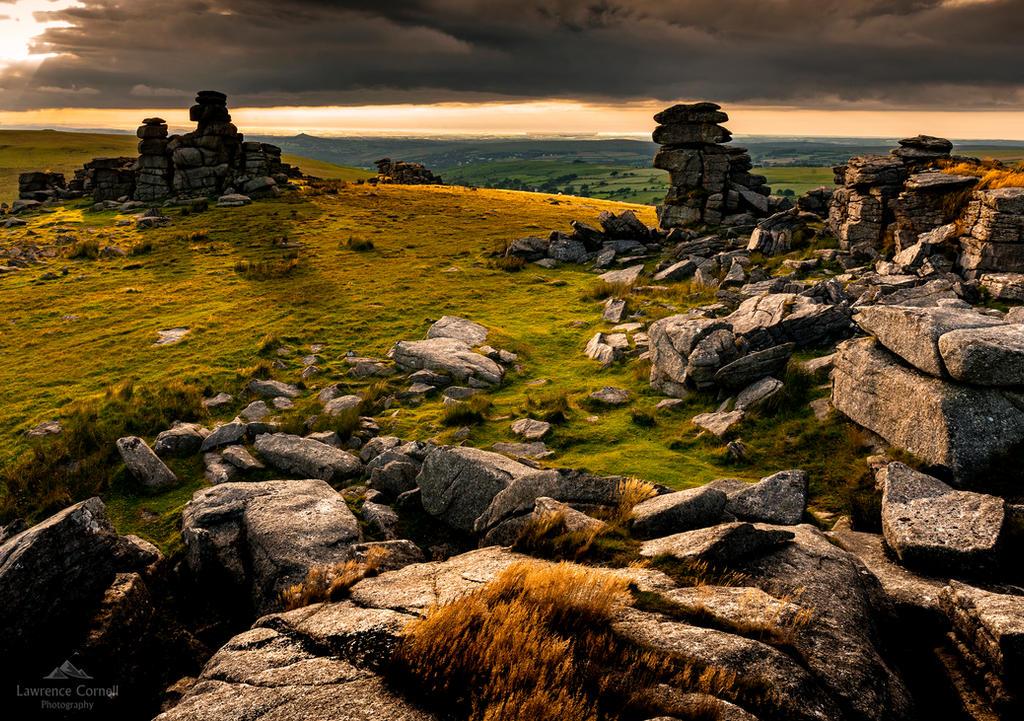 A granite gateway. by LordLJCornellPhotos
