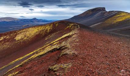 A Martian landscape. by LawrenceCornellPhoto