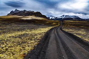 Down the dark roads. by LawrenceCornellPhoto