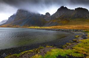 Gazing upon darkened slopes by LawrenceCornellPhoto