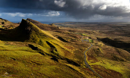 The rain stays mainly on the plain. by LawrenceCornellPhoto