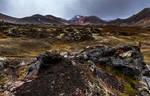 Wild terrain.